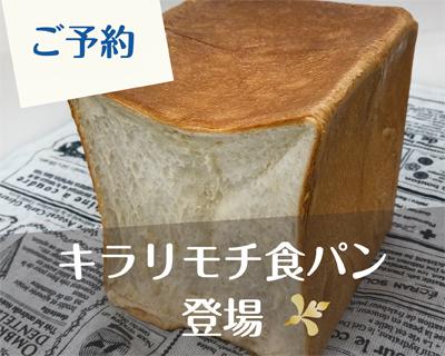 [10/14締切]初耳!知ってる!?食べたい!キラリモチの食パン!
